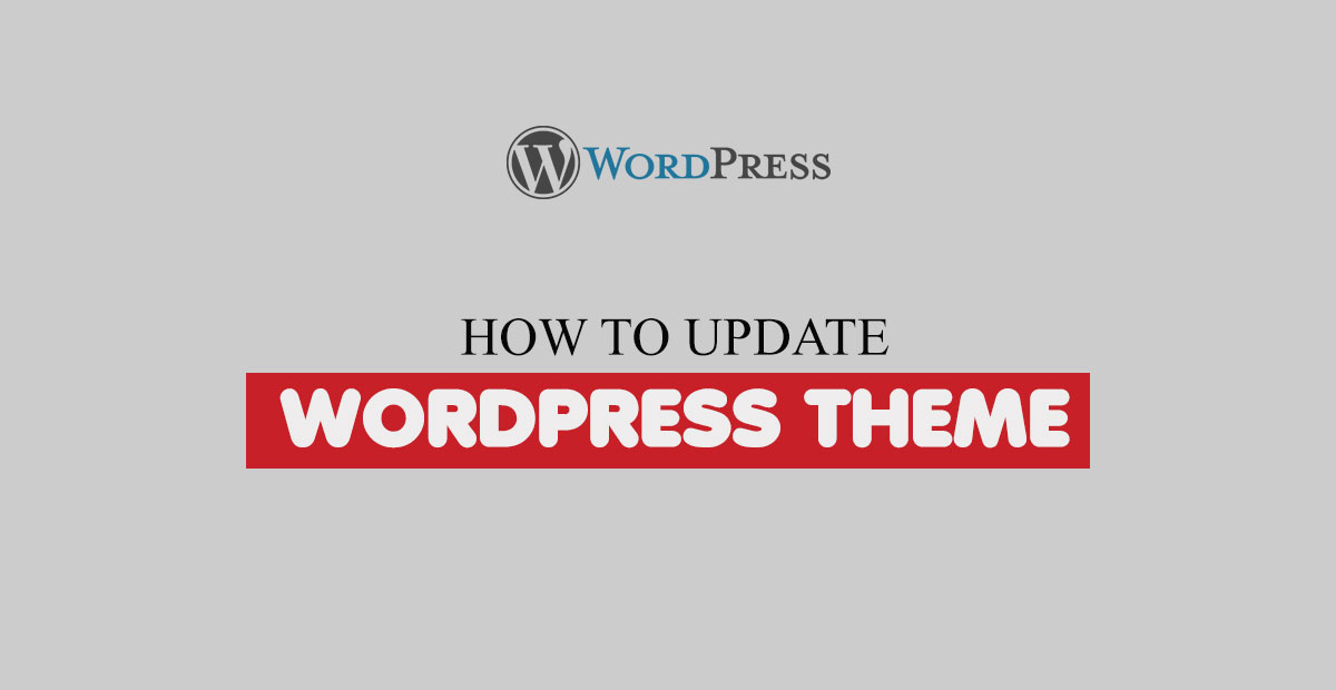 Update WordPress Theme