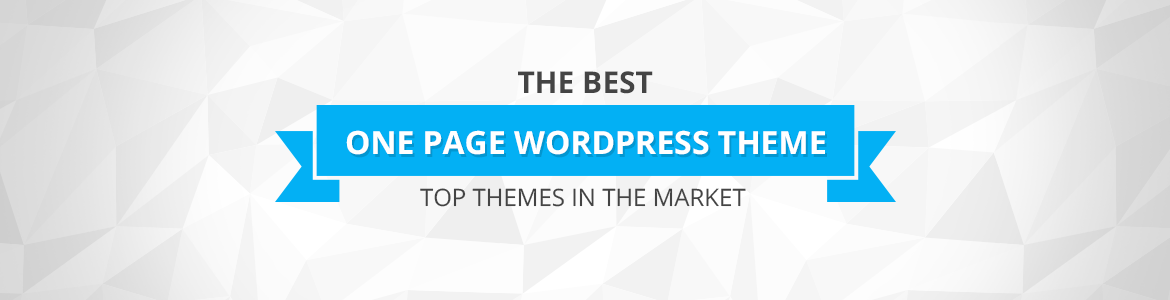 Best One Page WordPress Themes 2017
