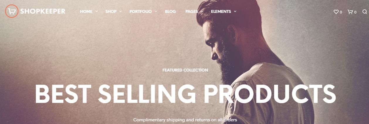 Shopkeeper multipurpose-wordpress theme