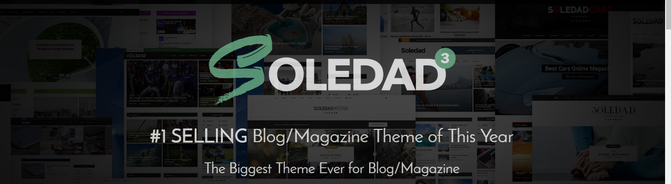 Soledad multipurpose wordpress theme