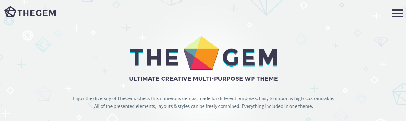 TheGem Multi Purpose wordpress theme