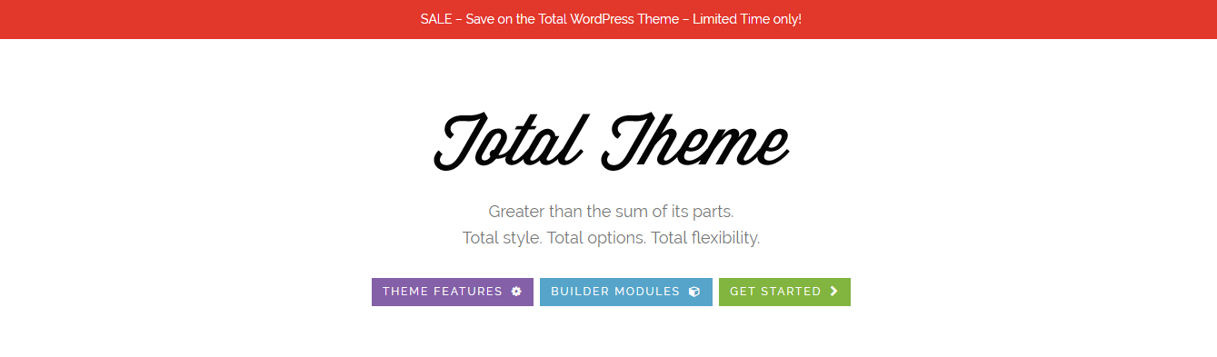 total Multi Purpose wordpress theme