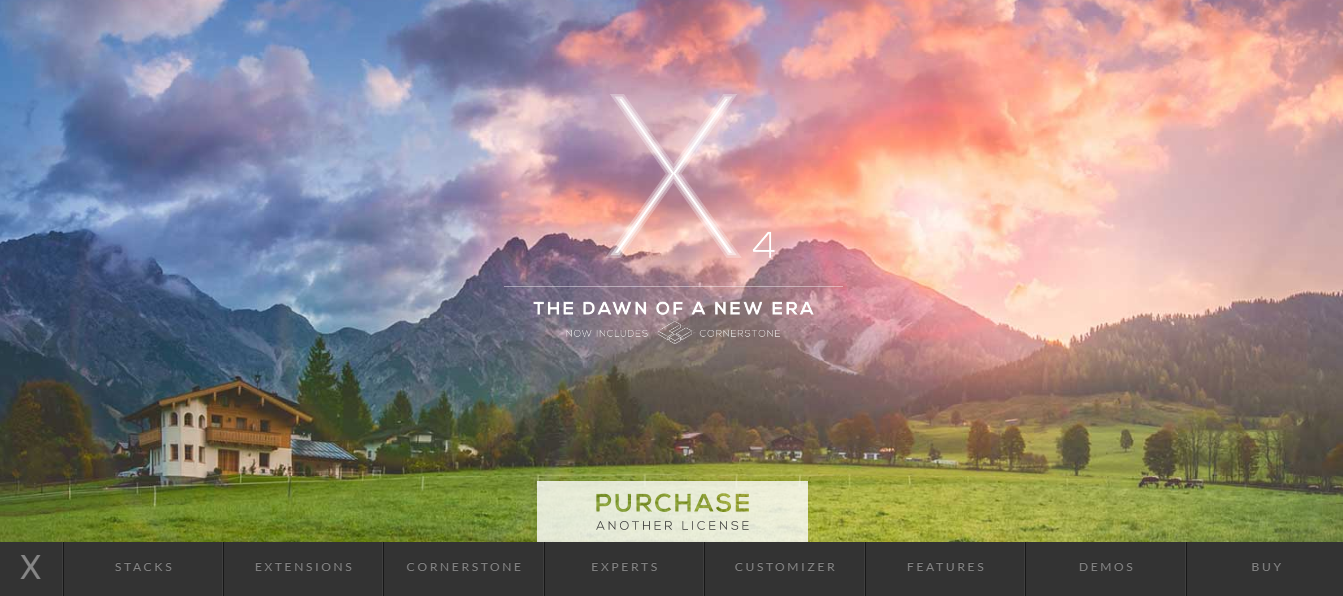 x Multi Purpose wordpress theme